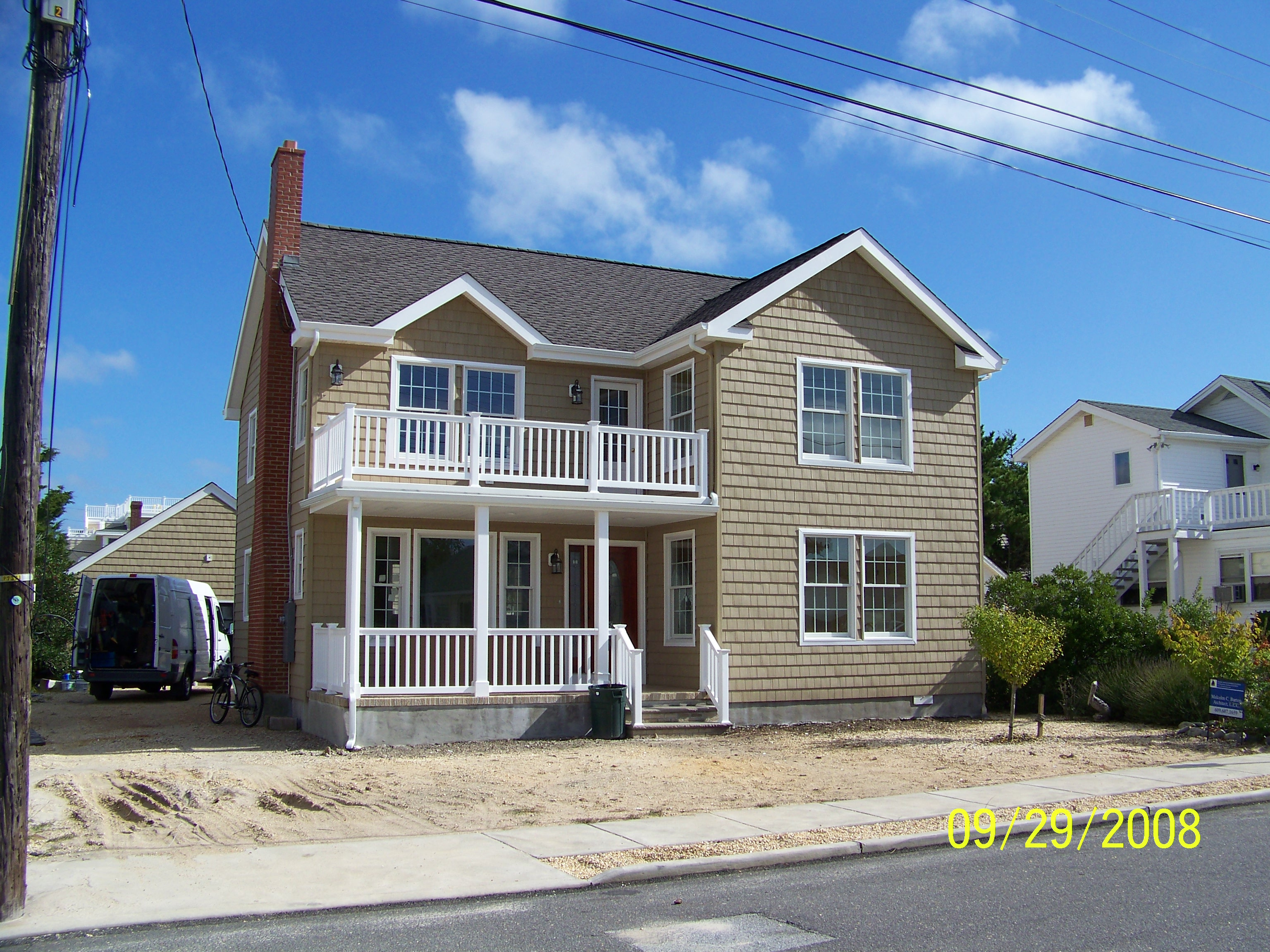 Second story addition brant beach nj jersey shore for Adding a second story